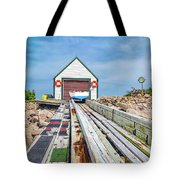 Goat Island Boat House Tote Bag