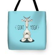 Goat Yoga - Meditating Goat Tote Bag