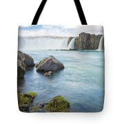 Godafoss - Iceland Tote Bag by Marla Craven