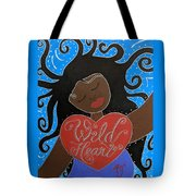 Goddess Of Wild Hearts Tote Bag