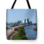 Goderich Harbour And Maitland Valley Marina Tote Bag