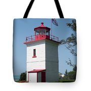 Goderich Lighthouse Tote Bag