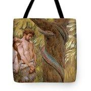 Gods Curse, Adam And Eve Tote Bag