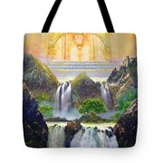 God's Holy Hill Tote Bag
