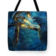Godzilla II Rei Dos Monstros Tote Bag