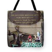 Gogarty And Joyce Statues One Tote Bag