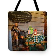 Gogarty And Joyce Statues Two Tote Bag
