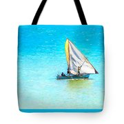 Going For Fish Tote Bag