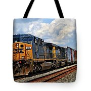 Going On A Train Ride Tote Bag
