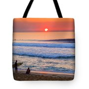 Gold Cup Sunset Tote Bag