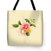 Golden Abstraction Tote Bag by Bee-Bee Deigner