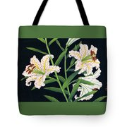 Golden-banded Lily - Digital Remastered Edition Tote Bag