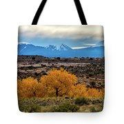 Golden Cottonwoods Tote Bag