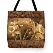 Golden Daffodils I    Tote Bag