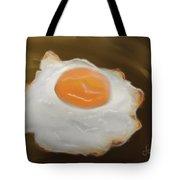 Golden Fried Egg Tote Bag