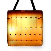 Golden Glass Doors Tote Bag