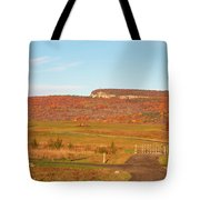 Golden Hour At River-to-ridge II Tote Bag