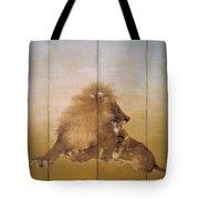 Golden Lion - Original Color Edition Tote Bag
