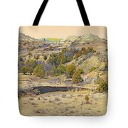 Golden Prairie Realm Reverie Tote Bag