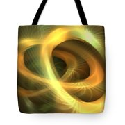 Golden Rings Tote Bag