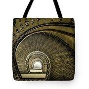 Golden Stairway Tote Bag