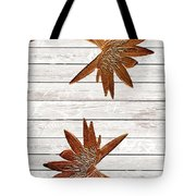 Golden Water Lily Duo Tote Bag