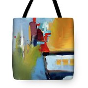 Golden Way Tote Bag by John Jr Gholson