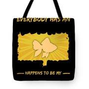 Goldfish Addiction Funny Farmer Animal Lover Tote Bag