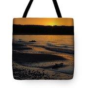 Good Harbor Bay Sunset Tote Bag