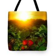 Good Morning Strawberries Tote Bag