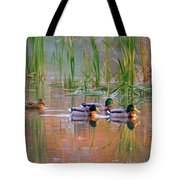 Got My Ducks In A Row Tote Bag