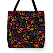 Gouache Hand Painted Botanical Tote Bag