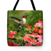 Graceful Garden Jewel Tote Bag