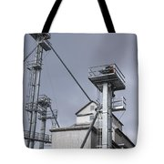 Grain And Feed Silos Bethel Vermont Tote Bag