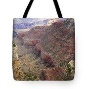 Grand Canyon View 4 Tote Bag by Dawn Richards