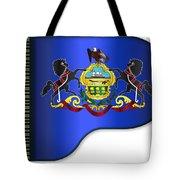 Grand Pennsylvania Flag Tote Bag