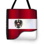 Grand Piano Austrian Flag Tote Bag