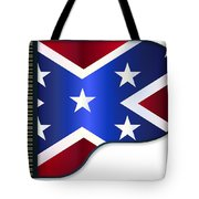 Grand Piano Confederate Flag Tote Bag