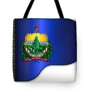 Grand Vermont Flag Tote Bag