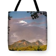 Grandfather Mountain Framed Tote Bag by Ken Barrett