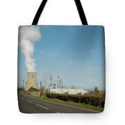 Grangemouth Petro-chemical Plant Tote Bag
