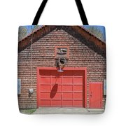 Grantham Barn With Quilt Squares Tote Bag
