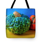 Graphic Autumn Pumpkins And Gourds Tote Bag
