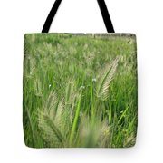 Grass Seeds The  Paddock Tote Bag