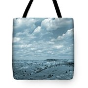 Grasslands Shadow Dance Tote Bag