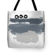 Grayscale 1- Abstract Art By Linda Woods Tote Bag