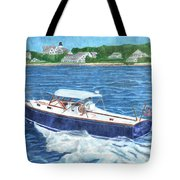Great Ackpectations Nantucket Tote Bag by Dominic White