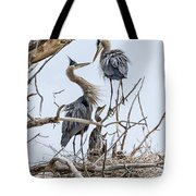 Great Blue Heron Rookery 4 Tote Bag