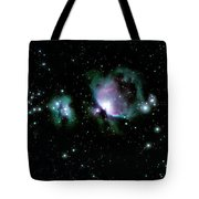 Great Orion Nebula M42 Tote Bag by Lon Dittrick