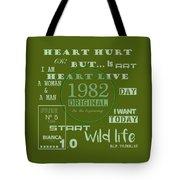 Green 1982 Original Tote Bag